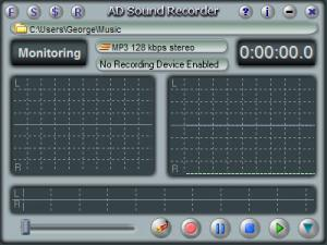 Enlarge AD Sound Recorder Screenshot