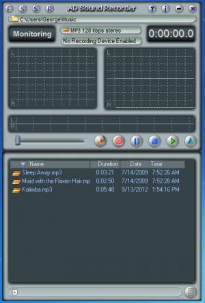 Enlarge AD Sound Recorder Screenshot