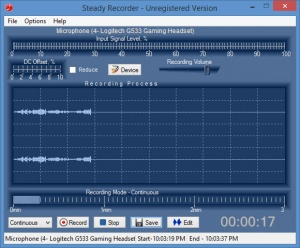 Enlarge Steady Recorder Screenshot