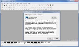 Enlarge NoteWorthy Composer Screenshot