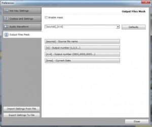 Enlarge Replay Media Splitter Screenshot