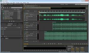 Enlarge Adobe  Audition Screenshot