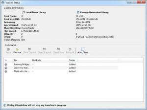 Enlarge SuperSync Screenshot