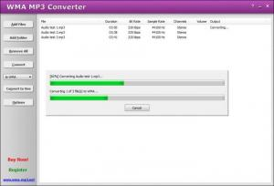 Enlarge WMA MP3  Converter Screenshot