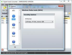 Enlarge Digital Audio Converter Screenshot
