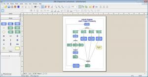 Enlarge UML Diagrammer Screenshot