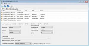 Enlarge Efficient WMA MP3  Converter Screenshot