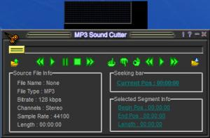 Enlarge CooolSoft Power MP3 Cutter (MP3 Sound Cutter) Screenshot