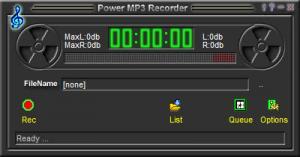Enlarge CooolSoft Power MP3 Cutter (MP3 Sound Cutter) Screenshot