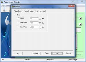 Enlarge Audio Sound Recorder Screenshot