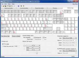 Enlarge KbdEdit Screenshot
