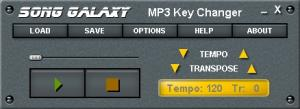 Enlarge MP3 Key Changer Screenshot