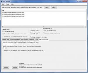 Enlarge MP3  Rename Screenshot