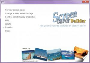 Enlarge Screen Saver Builder Screenshot
