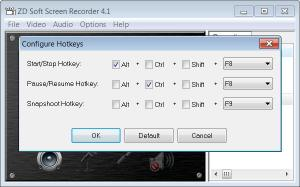 Enlarge ZD Soft Screen  Recorder Screenshot