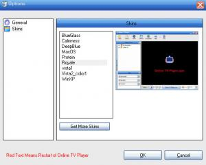 Enlarge Internet TV Player Screenshot