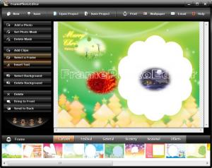 Enlarge Frame Photo Editor Screenshot