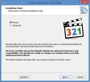 Enlarge K-Lite Codec Pack Screenshot