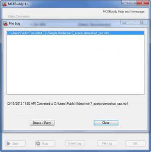 Enlarge MCEBuddy Screenshot