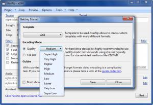 Enlarge StaxRip Screenshot