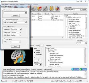 Enlarge MediaCoder Screenshot