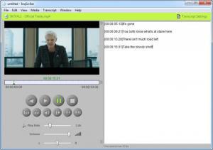 Enlarge InqScribe Screenshot