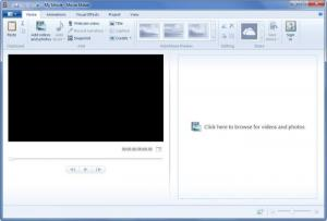Enlarge Windows Movie  Maker Screenshot
