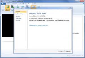 Enlarge Windows Movie  Maker Screenshot