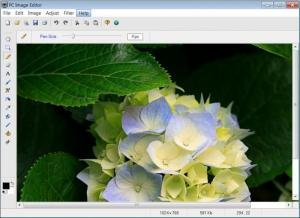 Enlarge PC Image Editor Screenshot