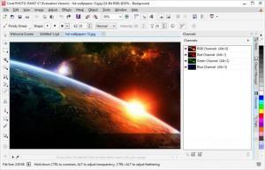 Enlarge CorelDRAW Graphics  Suite Screenshot