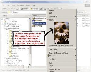 Enlarge ClickPic Screenshot