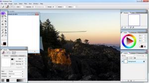 Enlarge Artweaver Free Screenshot