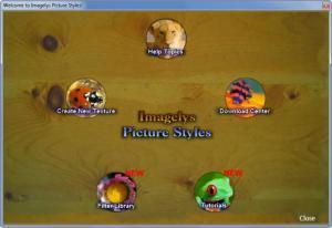 Enlarge Imagelys Picture Styles Screenshot