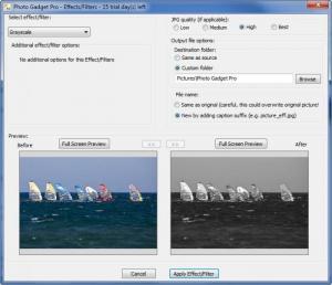 Enlarge Photo Gadget Pro Screenshot