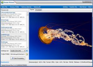 Enlarge Resize Pictures Plus Screenshot