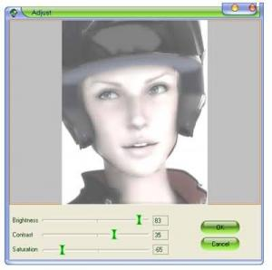 Enlarge Face Smoother Screenshot