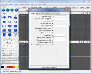 Enlarge AC3D Screenshot