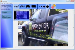 Enlarge PhotoWipe Screenshot