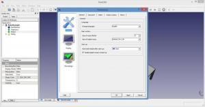 Enlarge FreeCAD Screenshot