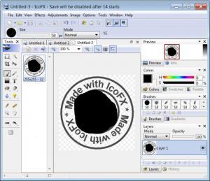 Enlarge IcoFX Screenshot