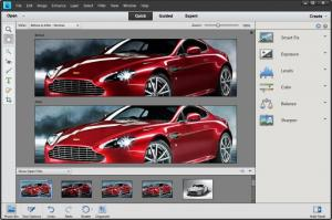 Enlarge Adobe Photoshop  Elements Screenshot