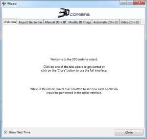 Enlarge 3DCombine Screenshot