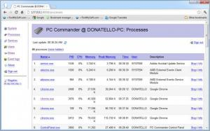 Enlarge PC Commander Screenshot