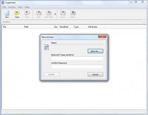 Enlarge Cryptomax Screenshot