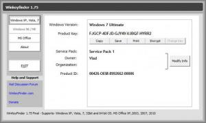 Enlarge WinKeyFinder Screenshot