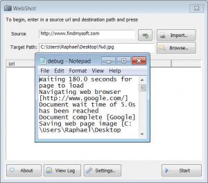 Enlarge WebShot Screenshot