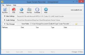 Enlarge Super Screen  Recorder Screenshot