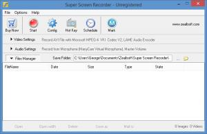 Enlarge Super Screen  Recorder Screenshot