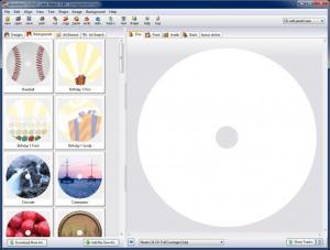 Enlarge Acoustica CD/DVD Label Maker Screenshot
