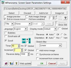 Enlarge WPanorama Screenshot